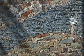 K-Bodrum Taşı Çilek Taşı Karışık Duvar Kaplama copy